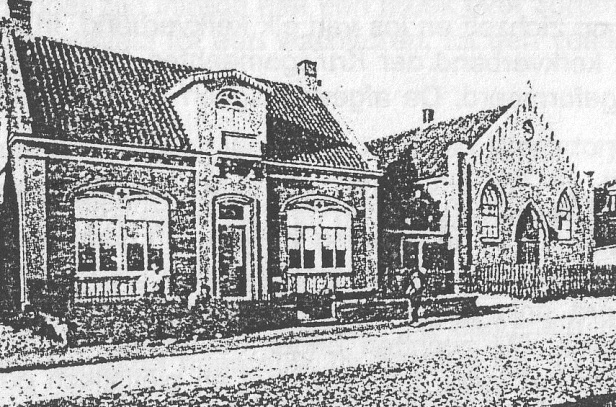 Noordwijk-Oude-kerk-en-pastorie