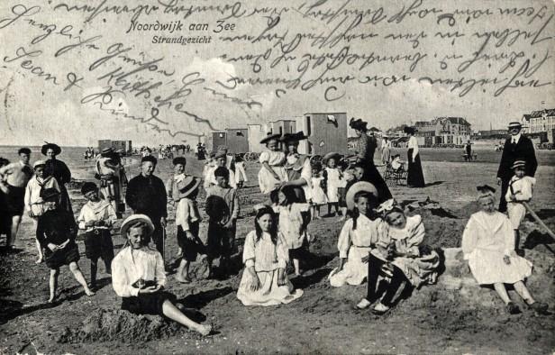 NoordwijkaanZee_1910_No53_Strandgezicht